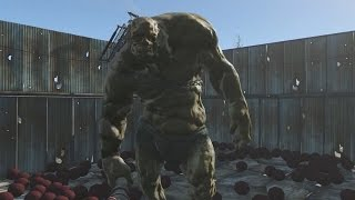 One Behemoth Fights Over 500 Deathclaws in Fallout 4 - IGN Plays Live
