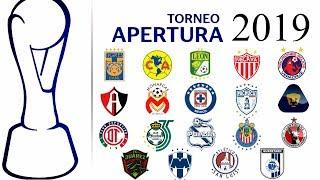 CALENDARIO COMPLETO de la LIGA BBVA MX para el torneo APERTURA 2019