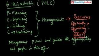 What Is Management What Are Core Management Activities Explore Polc