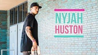 "Nyjah Huston Skateboarding 2017  ""Consistent!"" All Instagram Clips"