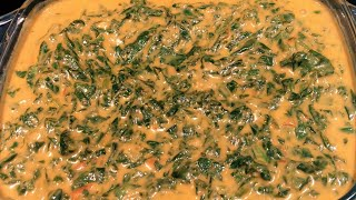 HOW TO COOK SPINACH IN COCONUT SAUCE | EASY AND DELICIOUS  SPINACH | SPINACH RECIPE.