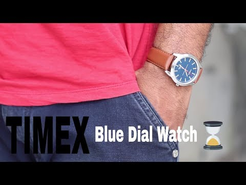 Timex Blue Dial Watch For Men