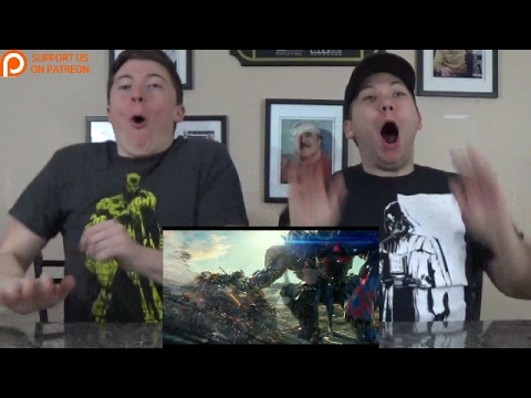 Transformers: The Last Knight Big Game Spot: IconicComic Reaction!