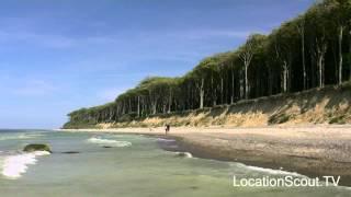 Location Scout TV - Europe Germany Baltic Sea Coast Nature Wild Landscape Beach Travel #01