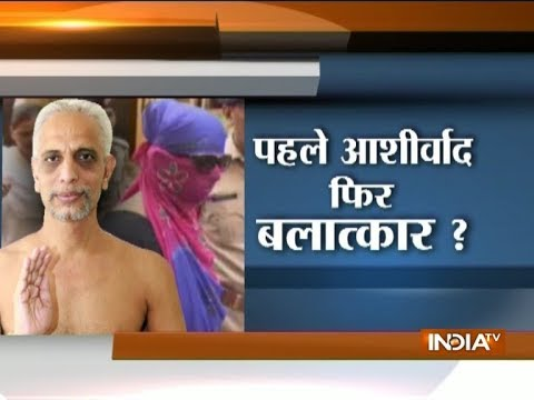 Jain muni Shantisagar Maharaj held for raping 19-year-old