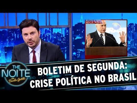 Boletim de Segunda: Crise política no Brasil   The Noite (22/05/17)