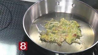 In The Kitchen: Ginger, Scallion & Mung Bean Pancake,