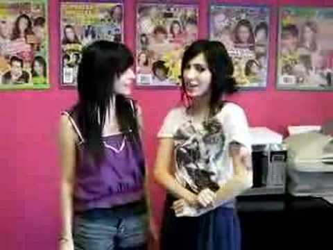 The Veronicas in Popstar!'s Offices with a Message for YOU!