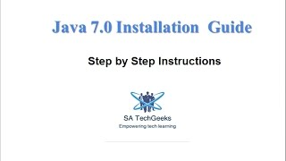 Java 7.0 Installation  Guide on Windows 7 OS