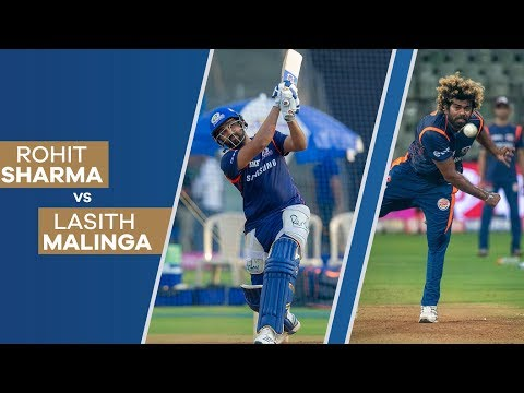 rohit-sharma-vs-lasith-malinga-at-the-nets-|-mumbai-indians