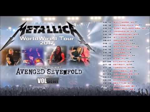 Metallica announce North American tour with Avenged Sevenfold and Volbeat and Gojira