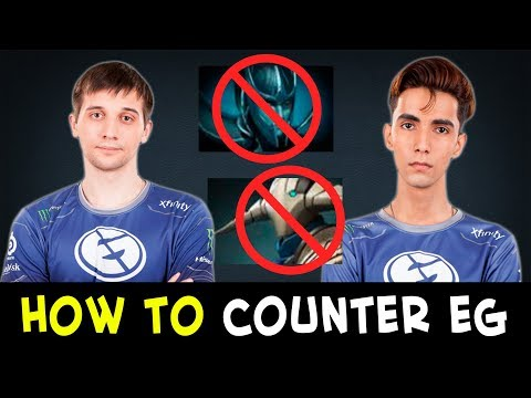 How to counter strongest melee heroes — EG vs Complexity