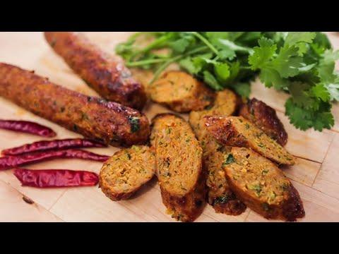 Northern Thai Sausage Recipe (Sai Ua ) ไส้อั่ว - Hot Thai Kitchen!