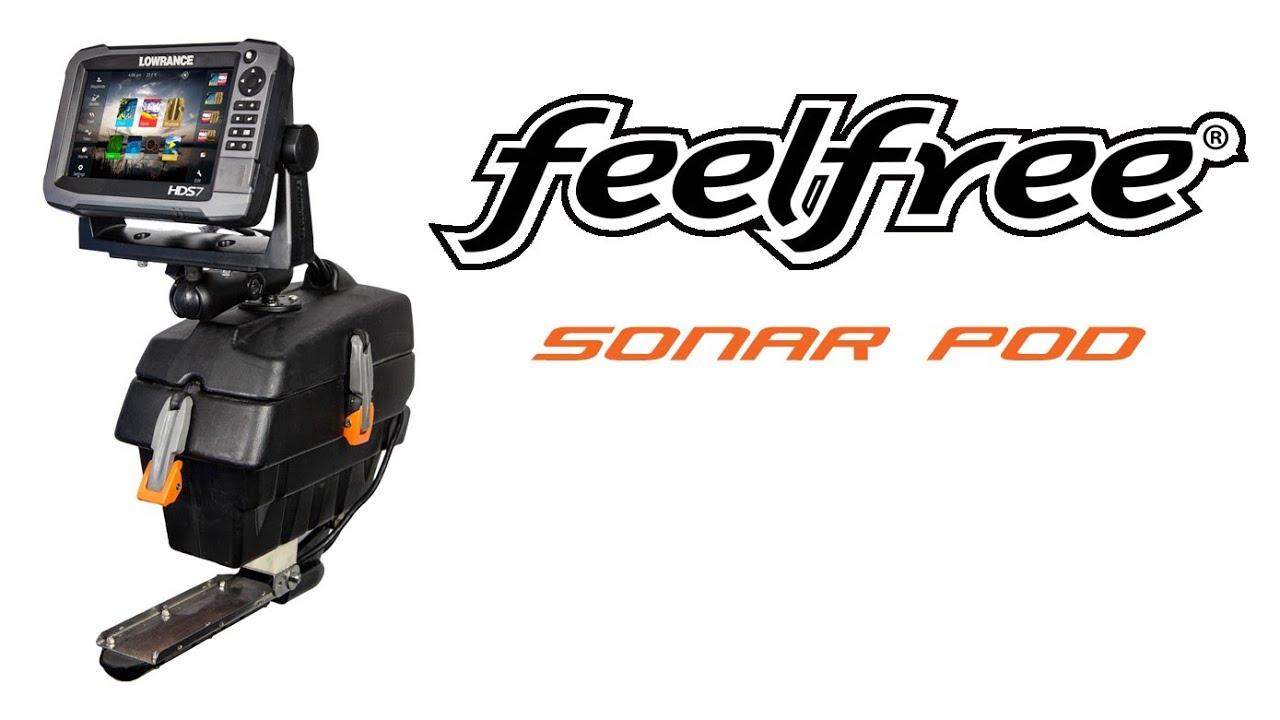 Feelfree sonar pod installation