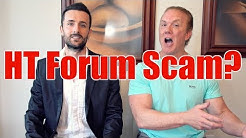 Hair Transplant Forum Scam, You Didn't Know
