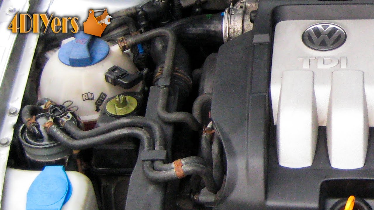diy volkswagen mkiv tdi fuel filter replacement priming with seafoam youtube [ 1280 x 720 Pixel ]