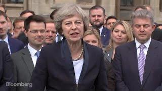 Theresa May: I Am Honored and Humbled to Succeed David Cameron