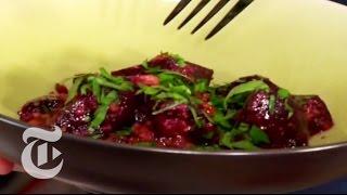 Thanksgiving Recipes: Beet Salad With Garlic-walnut Sauce - Mark Bittman | The New York Times