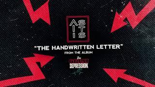 As It Is - The Handwritten Letter