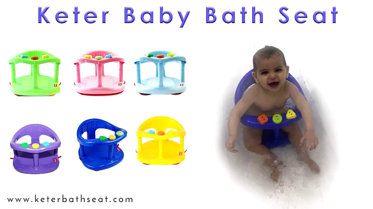 Keter Baby Bath Seat - Turn Bath Time Into Fun Time - YouTube
