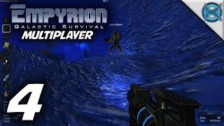 "Empyrion Galactic Survival Multiplayer Gameplay / Let's Play (S-2) -Ep. 4- ""Mine Time"""
