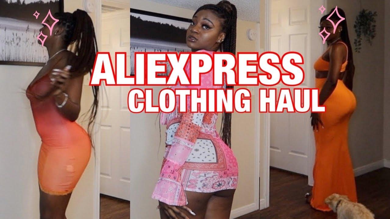 ALIEXPRESS SUMMER CLOTHING HAUL| LESSLY I