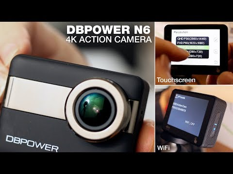 DBPOWER 4K Action Camera with WiFi and Touchscreen - Review & Demo