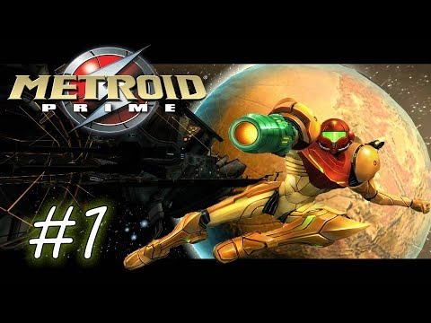 Let's Play Metroid Prime (Blind): Part 1.  A Badass Named Samus