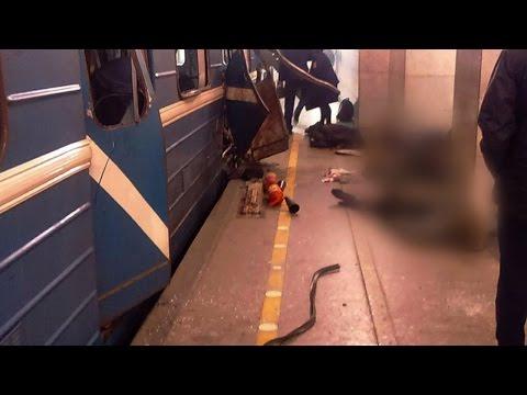 Terror in Russland: Tote bei Explosion in U-Bahn in St. Petersburg