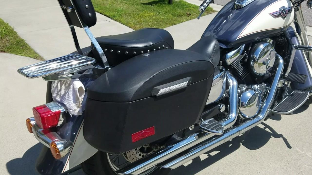 Kawasaki Vulcan 1500 Classic Motorcycle Saddlebags Review