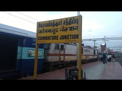 Journey in Coimbatore-Chennai Intercity SF Exp....Part-1