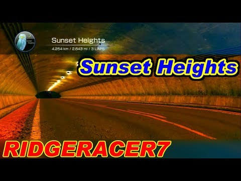 Sunset Heights - リッジレーサー7 / RIDGERACER7