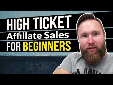 Affiliate Marketing - How I Get 10-20 High Ticket Sales Per Month (Beginner Friendly) thumbnail