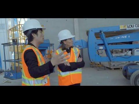 Visite de chantier | Nouveau pavillon Pierre Lassonde MNBAQ