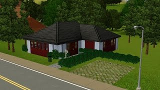 The Sims 3: House Building - Roommates Den (w/ Basement)