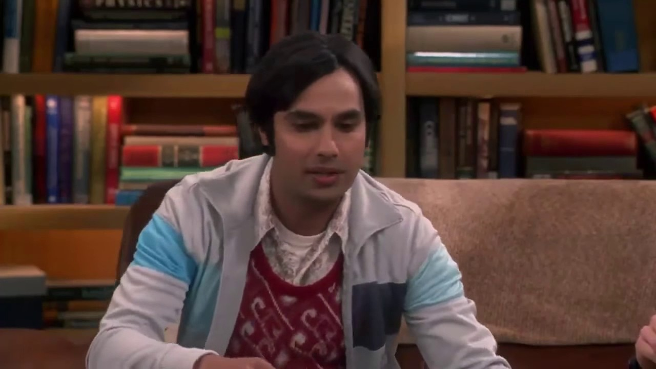 Big Bang Theory S10 E08    Big bang theory Raj goes on a Date