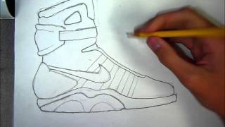 How to Draw: Air Mags (Speed Art)