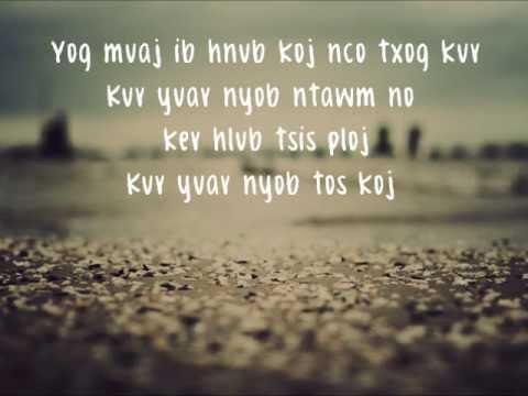 Tseem Nyob Tos Koj (lyrics) - Meena Thao thumbnail