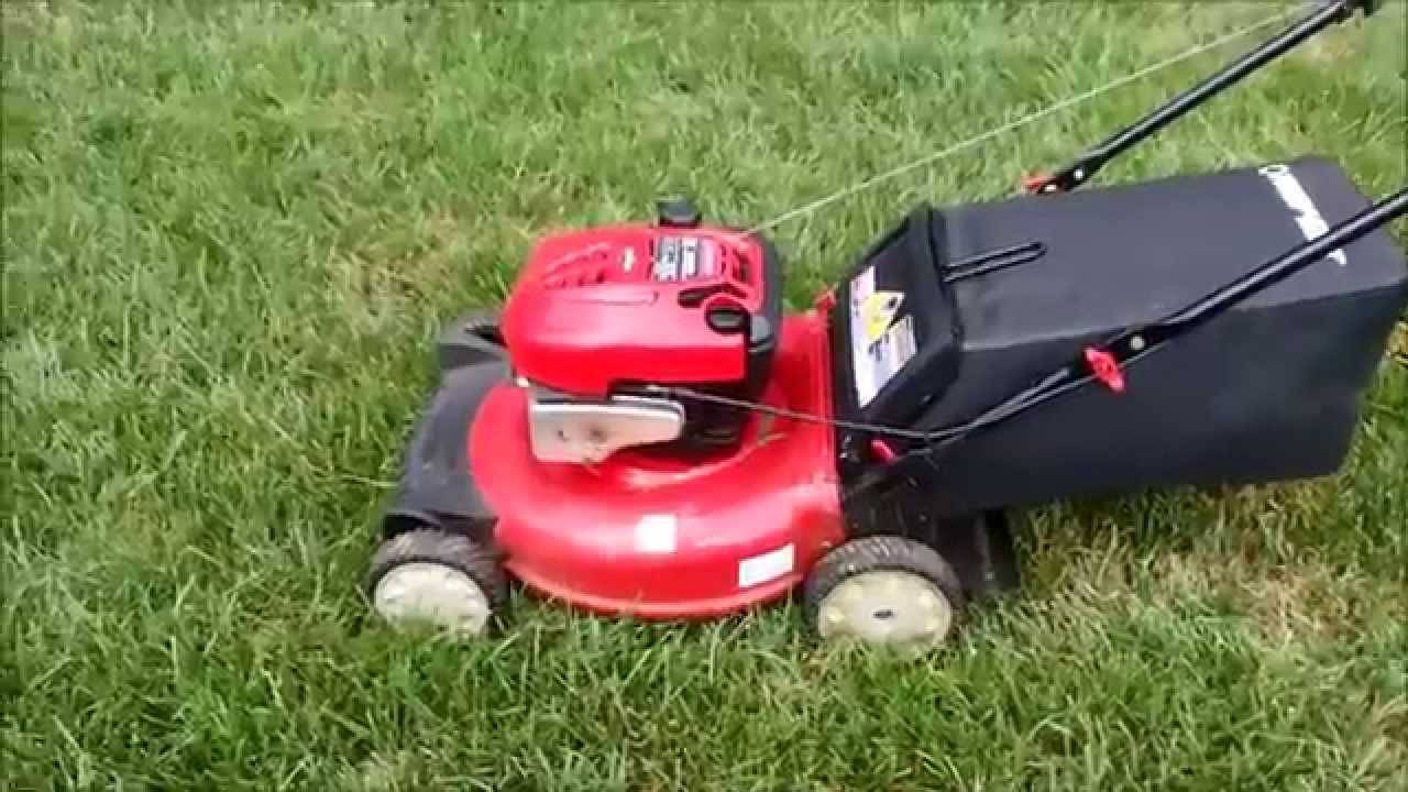 Troy Bilt 6 75hp B S Engine 21 Push Lawn Mower Moving Sale June