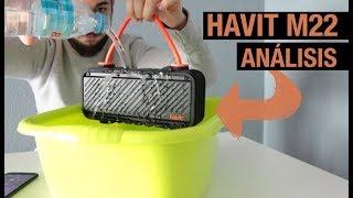 El mejor altavoz bluetooth resistente al agua y golpes 2018   Havit M22