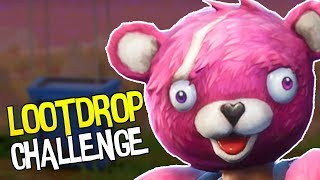 NUR LOOTDROP CHALLENGE | Fortnite Battle Royale