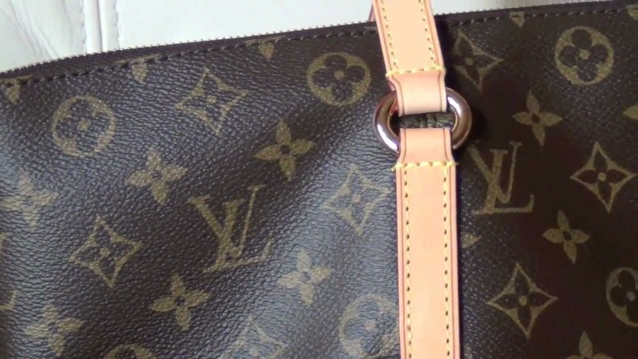 10b2d2980cc9 Louis Vuitton Authentic vs Replica - Totally GM - YouTube