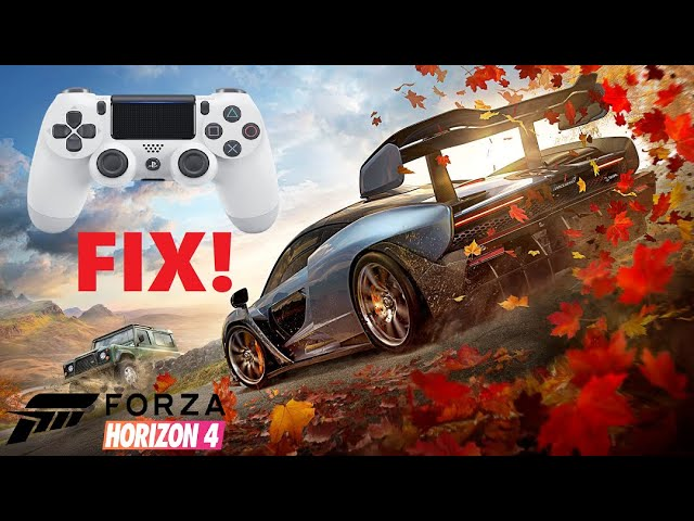 Forza Horizon 4 Playstation Controller Fix Youtube