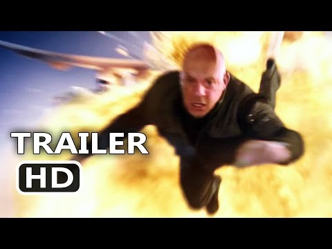 XXx 3 Official Trailer (2017) Vin Diesel Action Movie HD