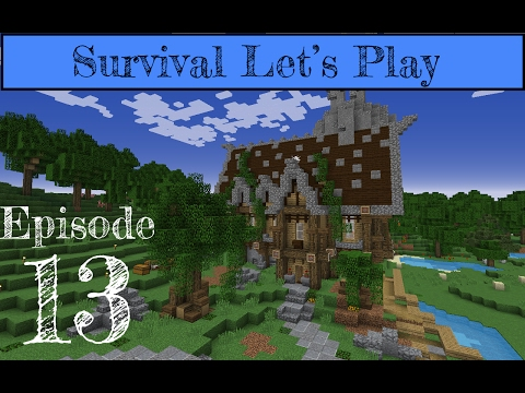 Minecraft 1.11.2 Survival Let's Play: E. 13 FINISHING THE FORGE