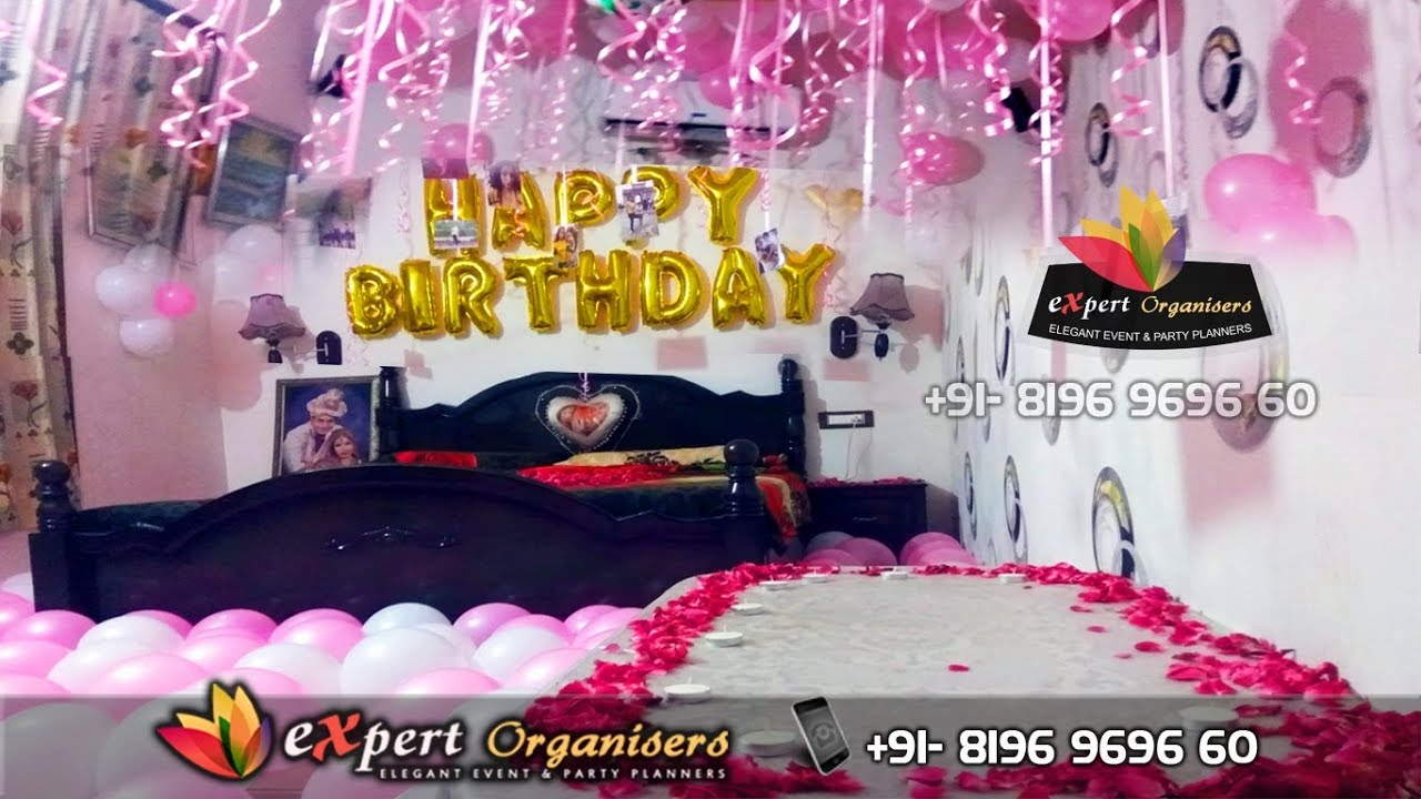 Romantic Room Decorations To Surprise Expert Wedding Planners And Birthday Party Organisers In Chandigarh Mohali Panchkula Solan Shimla Ambala