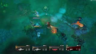 Helldivers difficulty level 15  team play #5 vs Bugs