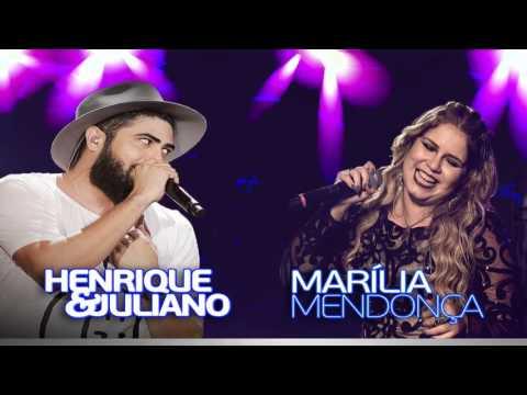 Marília Mendonça e Henrique e Juliano    2017 2018  Só Músicas Novas