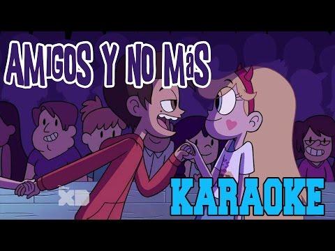 Star vs Las Fuerzas del Mal-Amigos y no más-KARAOKE