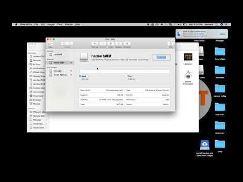 hindi format usb in mac | pen drive format mac | clean external drive in mac